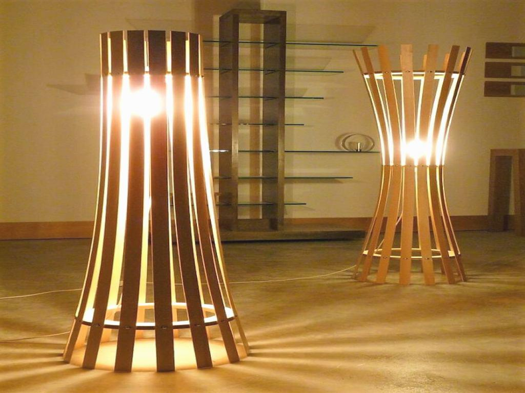 Image of: Unique Floor Lamp Lighting