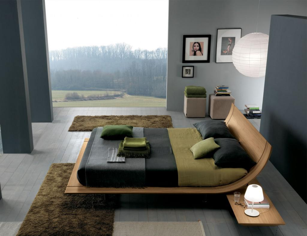 Image of: Unique Modern Bed Designs