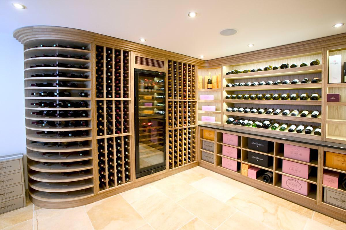 Image of: Unique Wine Rack Ideas