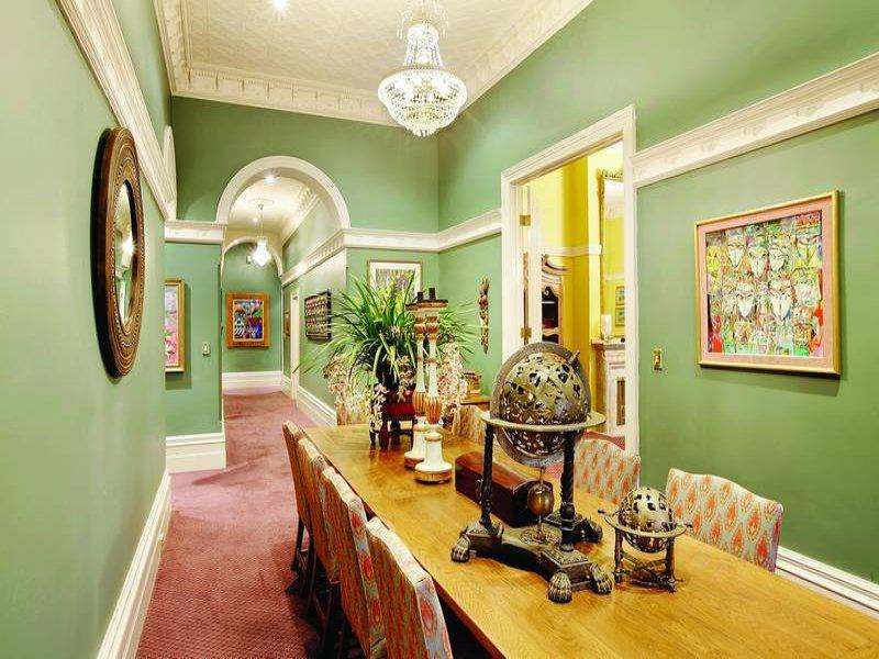 Image of: Victorian Colour Schemes Dining Room