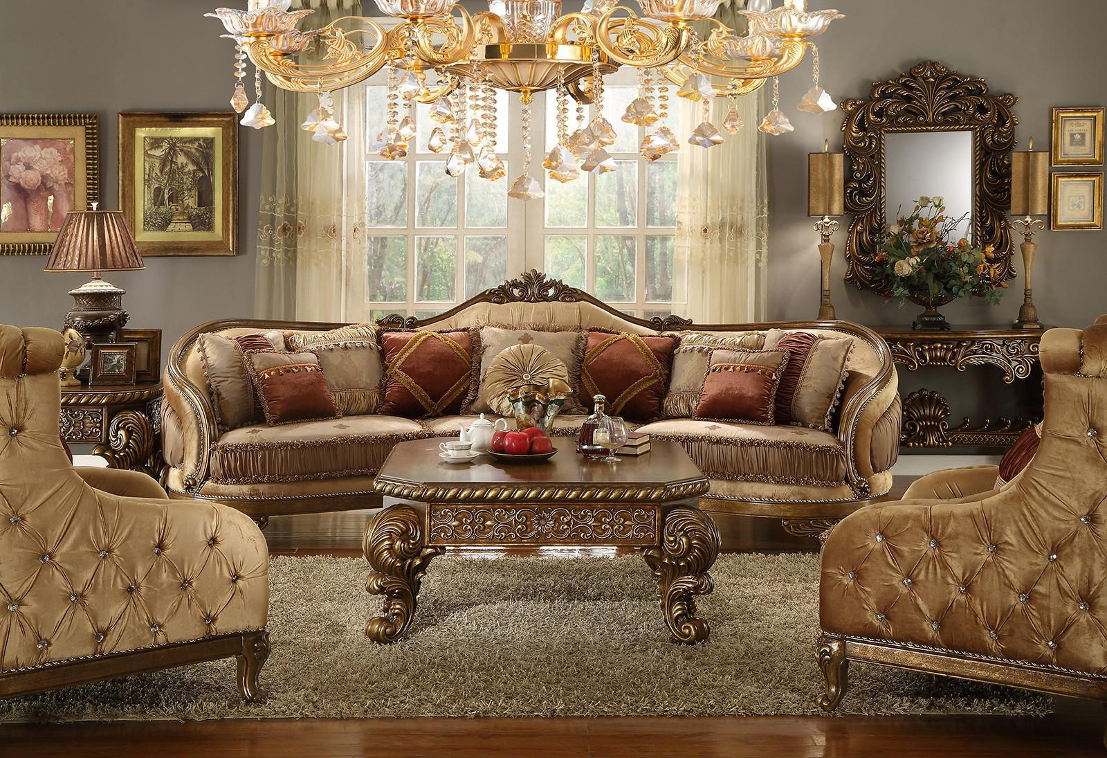Image of: Victorian Style Furniture For Living Room