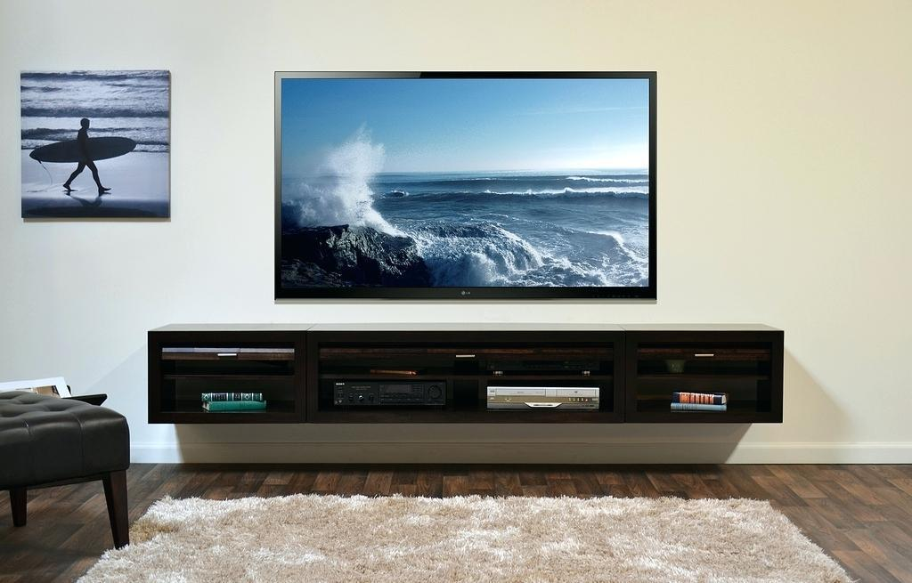 Image of: Wall Mount Tv Ideas Diy