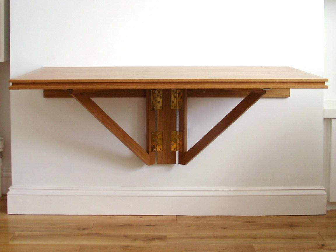 Image of: Wall Mounted Dining Table Ikea