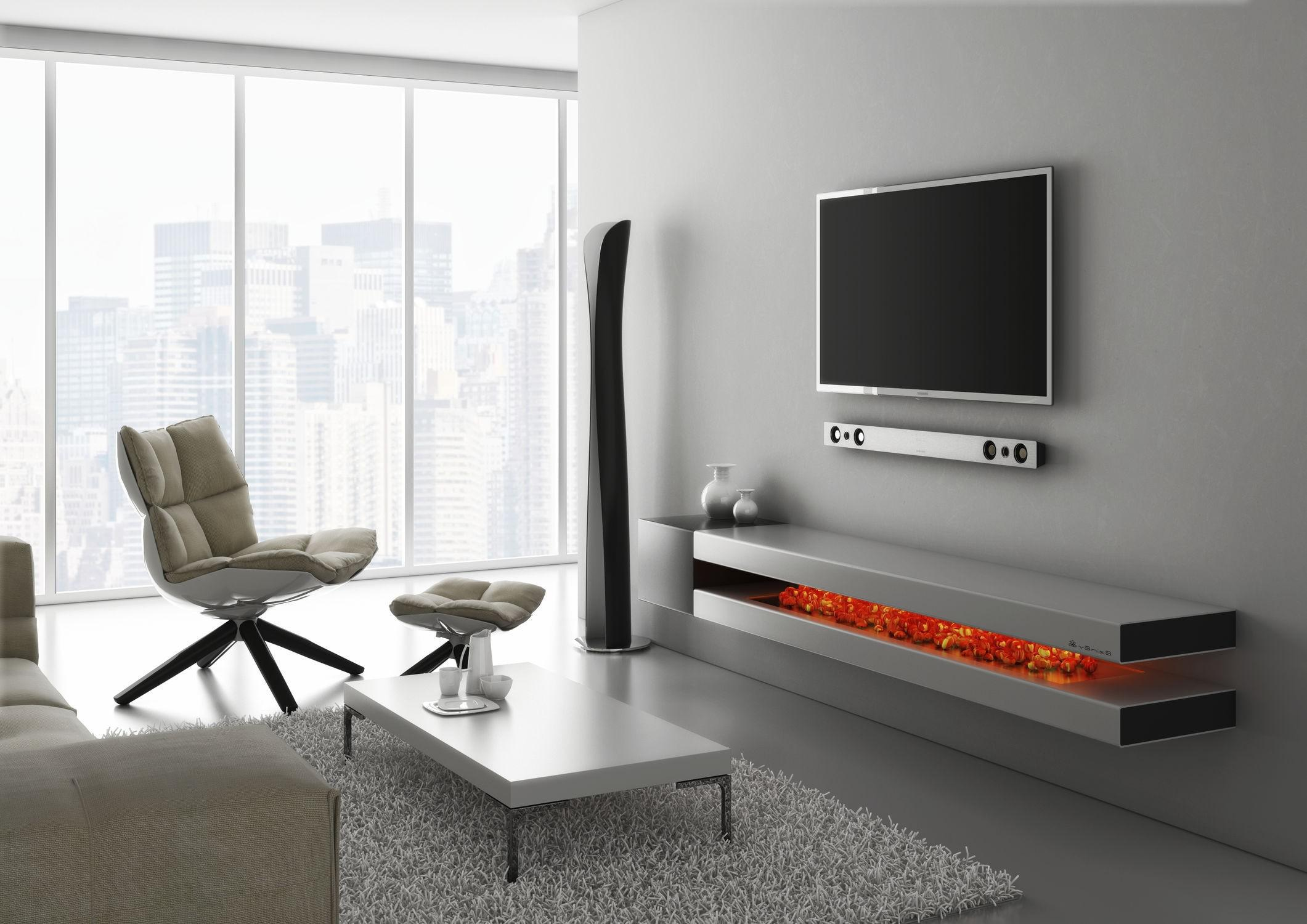 Image of: Attractive Wall Mounted Tv Ideas