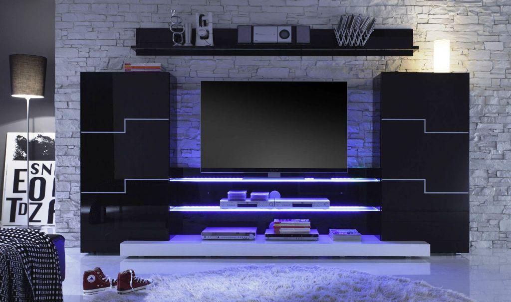 Image of: Wall Mounted Tv Unit Designs For Living Room