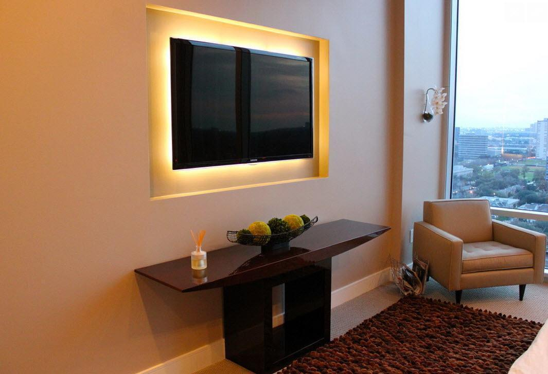 Image of: Wall Mounting Tv Ideas