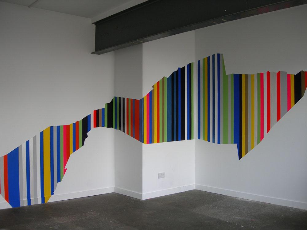 Image of: Wall Paint Design Ideas With Tape