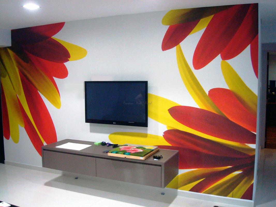 Image of: Wall Paint Design With Tape