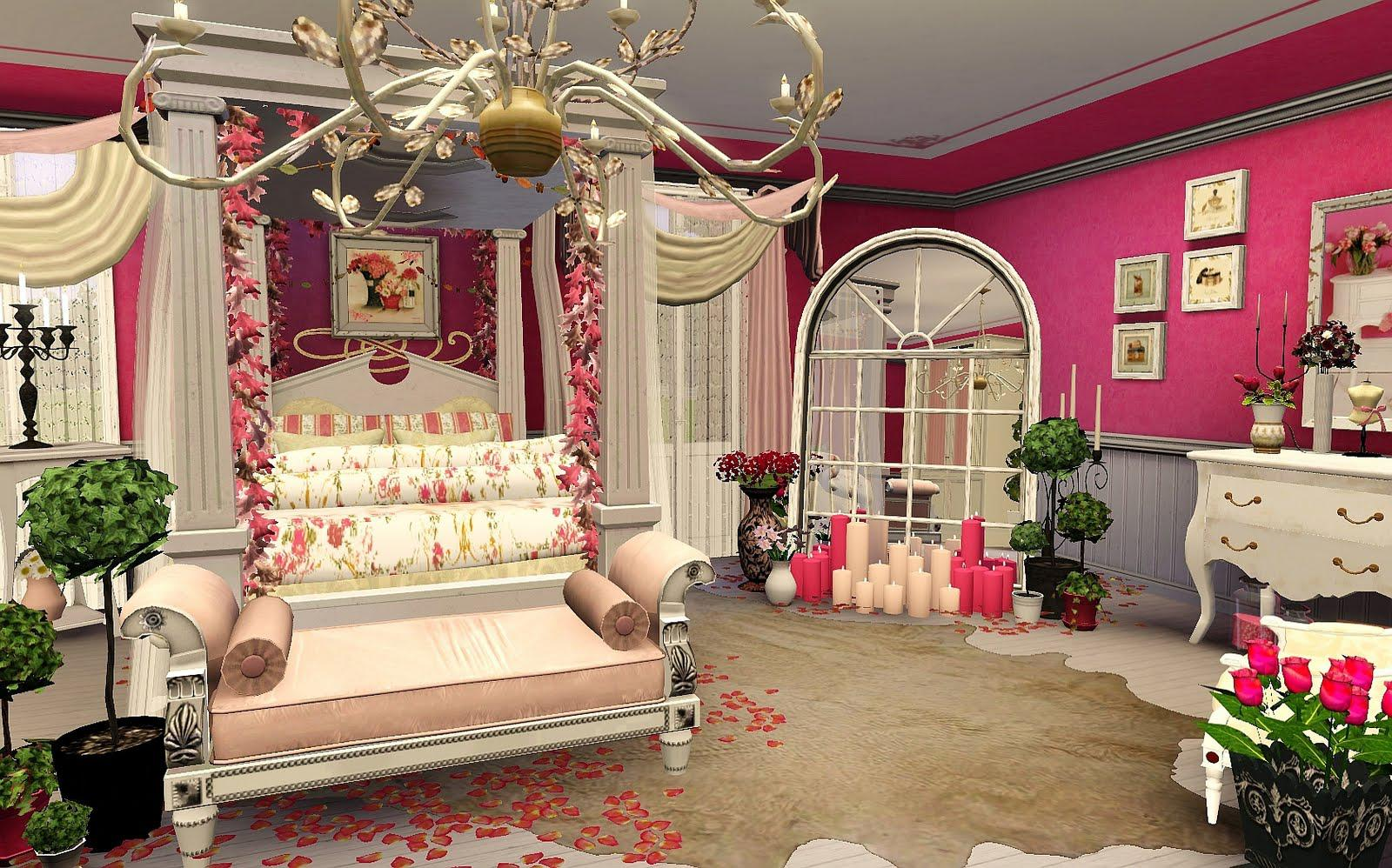 Image of: Warm Romantic Bedroom Colors