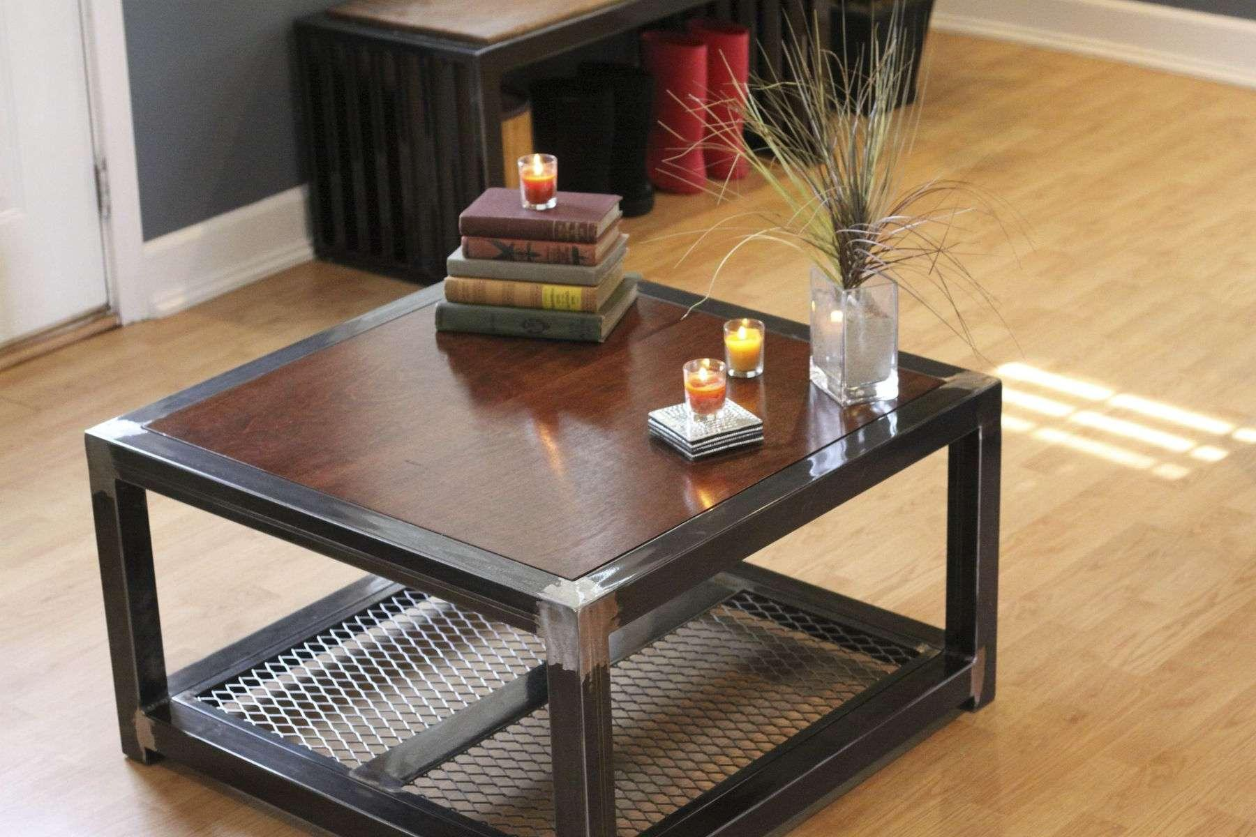 Image of: Wood Coffee Tables With Storage