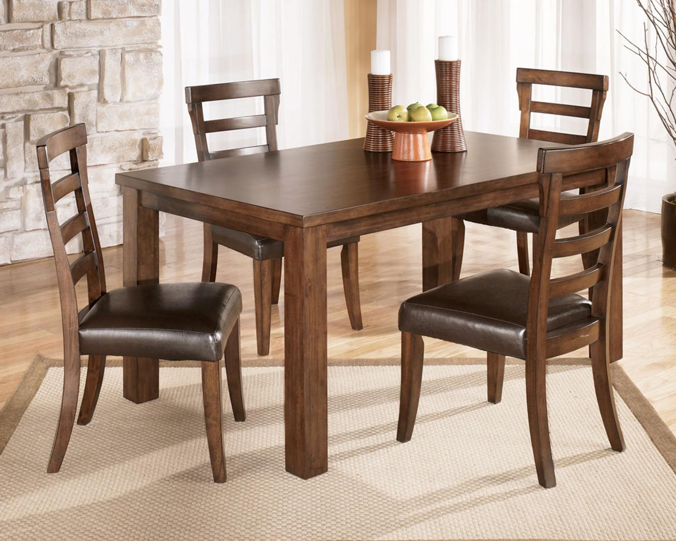 Image of: Wood Dining Room Furniture