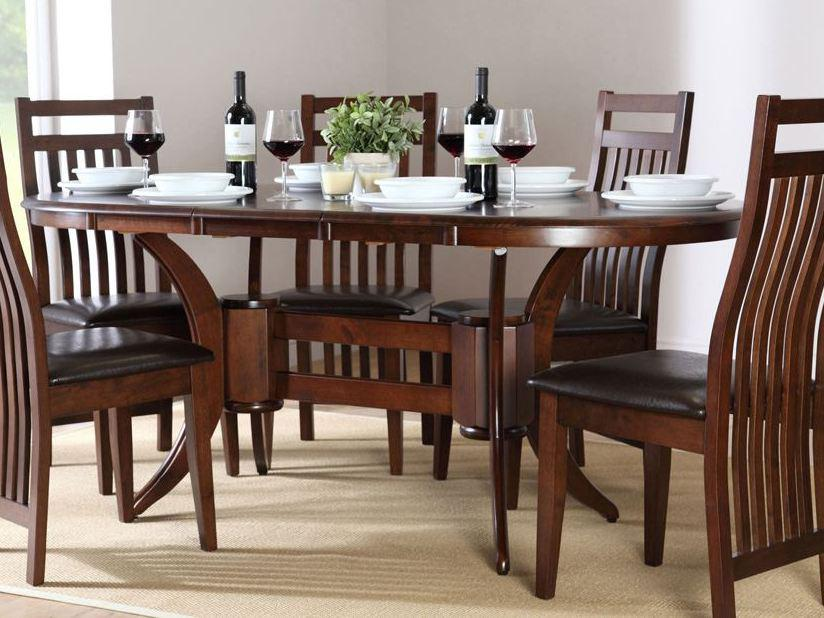 Image of: Wood Dining Room Set