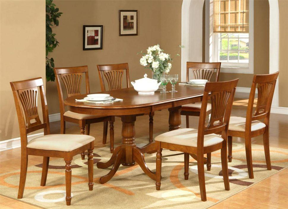 Image of: Wood Dining Room Table Rustic