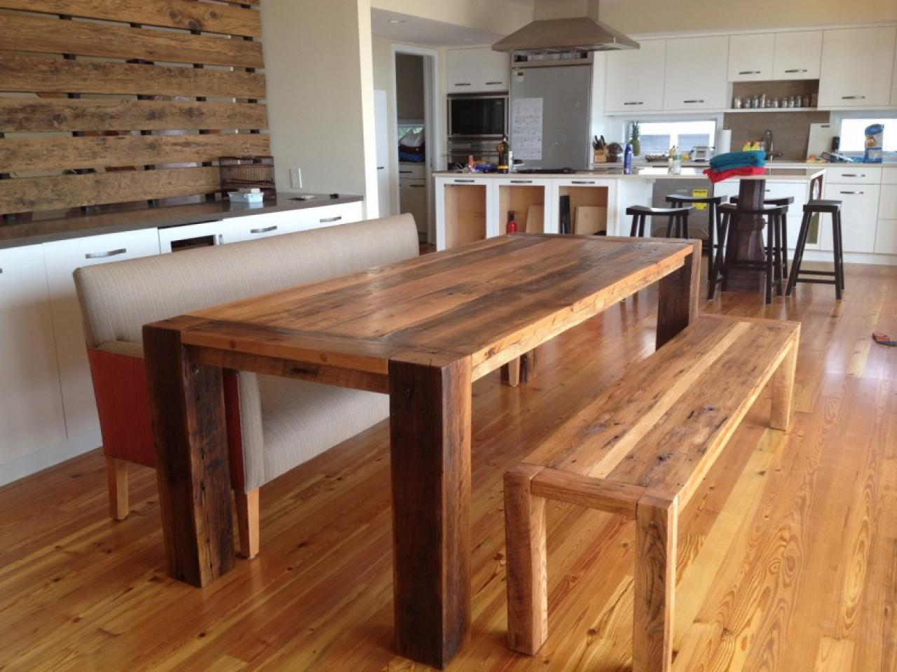 Image of: Wood Dining Room Table