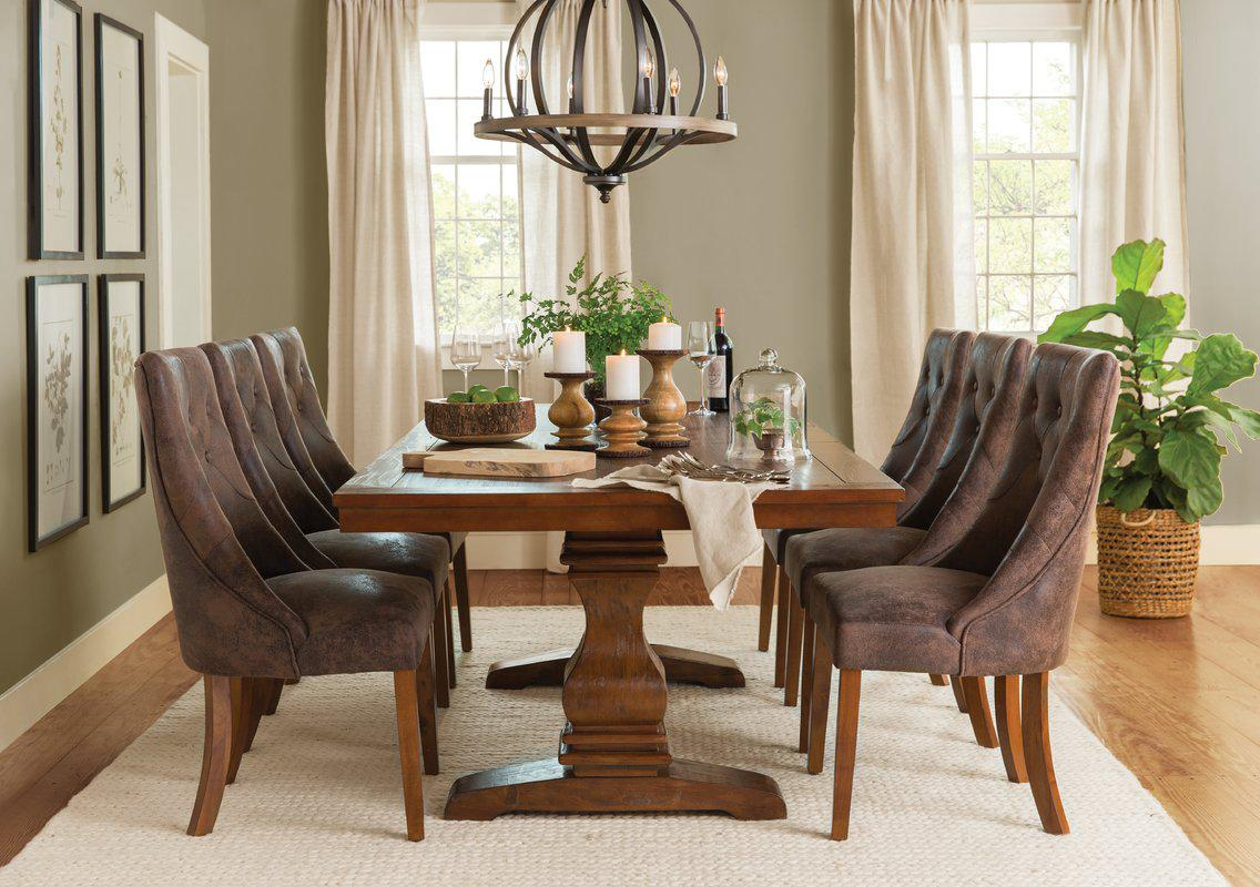 Image of: Wood Dining Room Tables Near Me