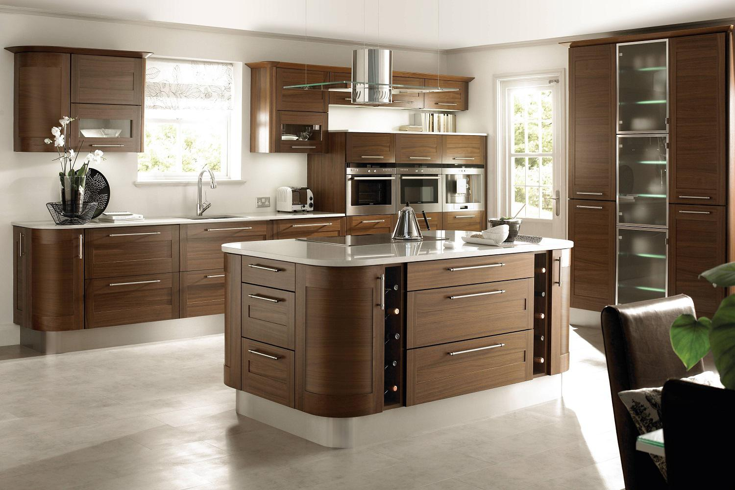 Image of: Wood Kitchen Design Ideas