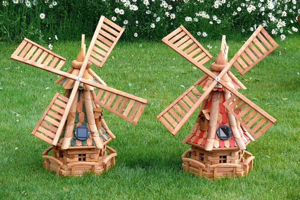 Image of: Wooden Garden Ornaments Ebay