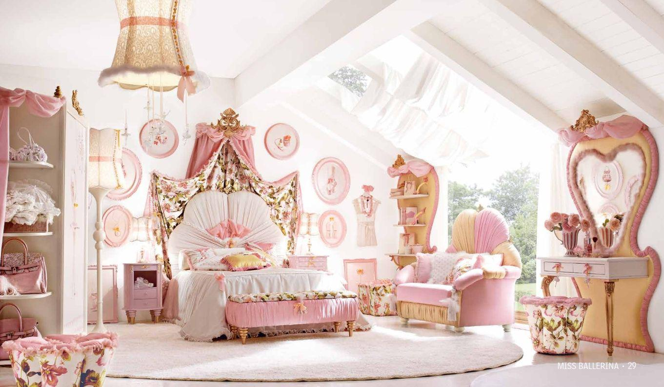 Image of: Attractive Girl Bedrooms Ideas