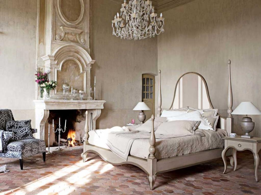 Image of: french country house interiors