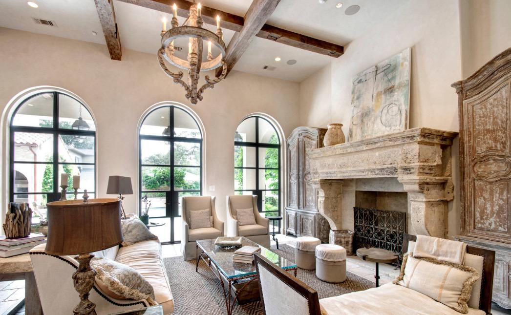 Image of: french country interiors modern