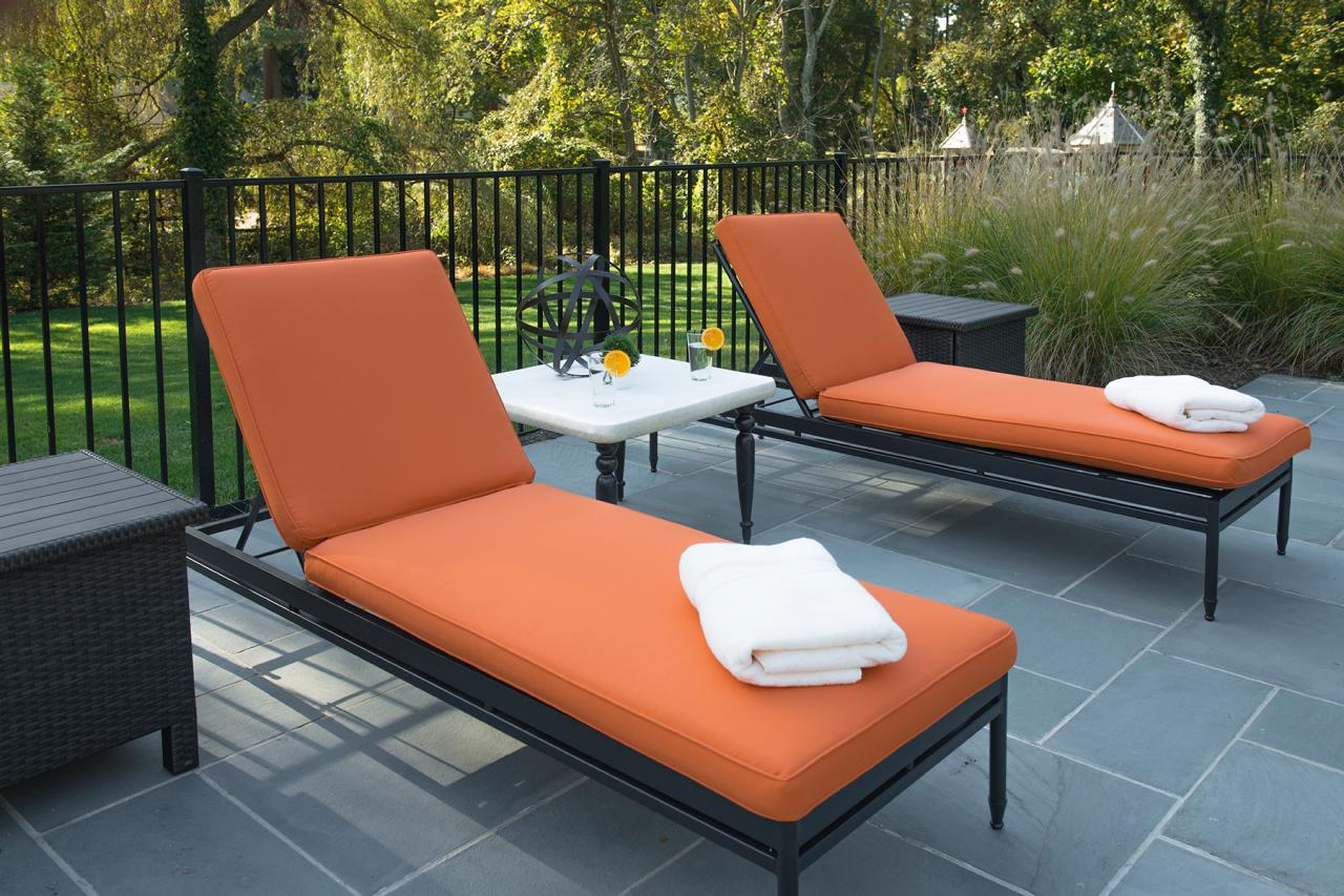Image of: patio chaise lounge clearance