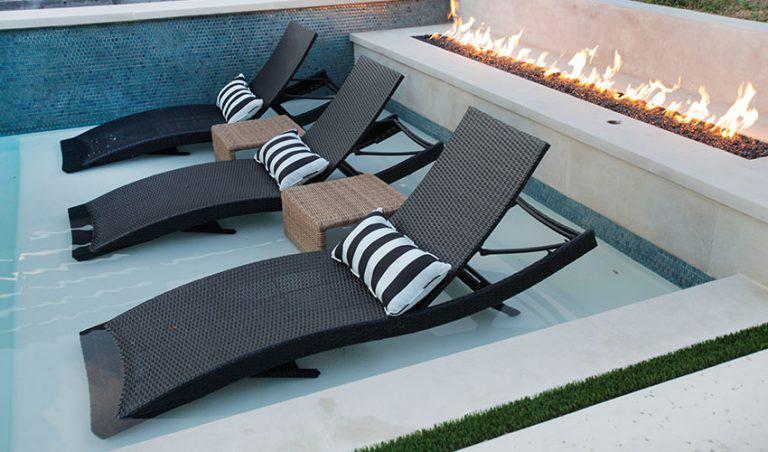 Image of: patio chaise lounge walmart