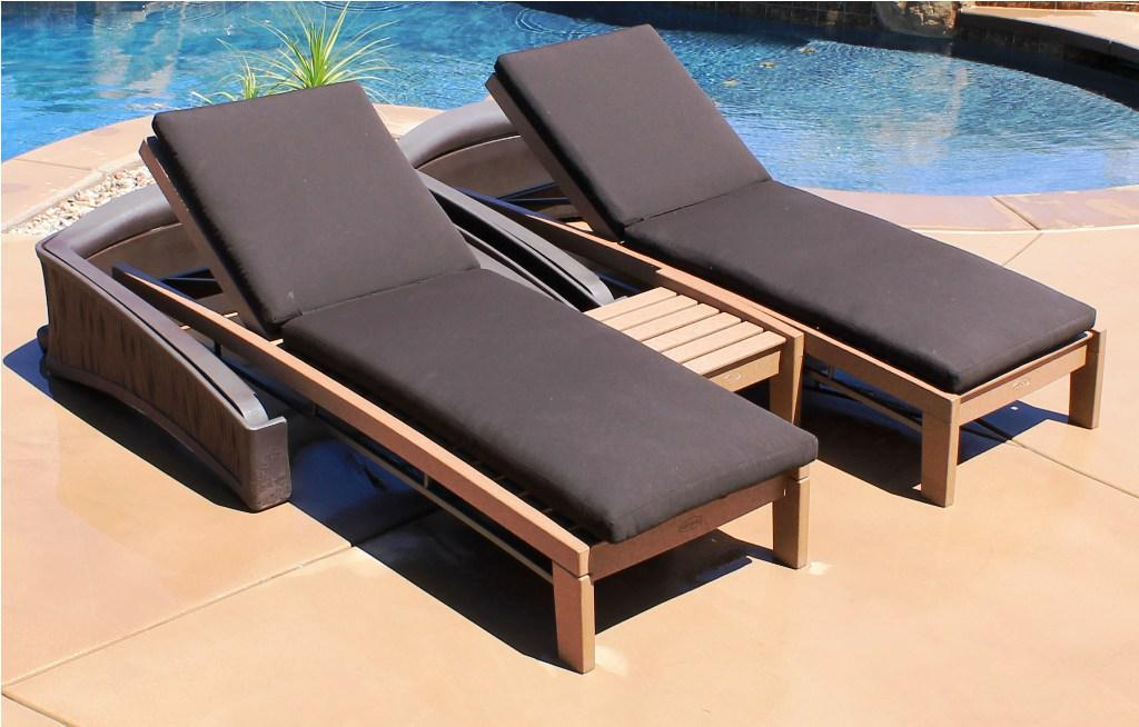 Image of: poolside chaise lounges target