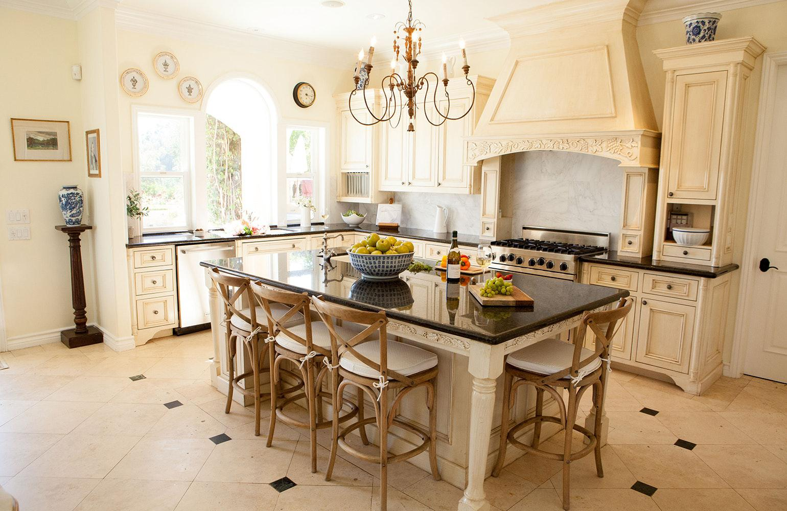 Image of: rustic french country interiors