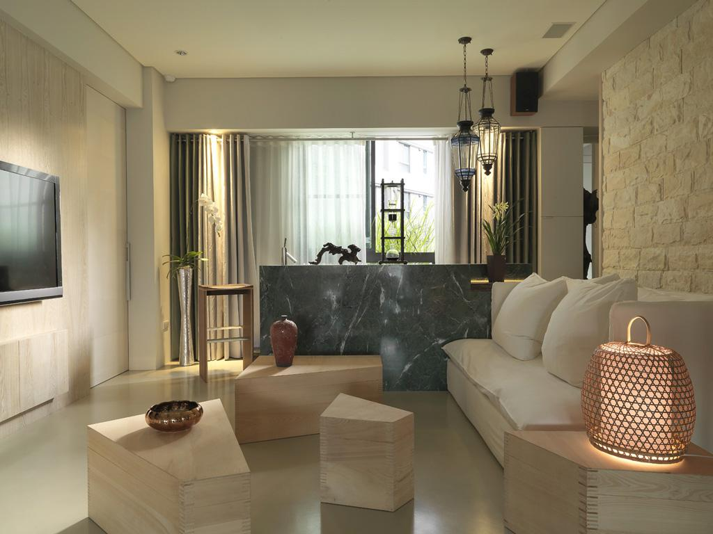 Image of: Asian Apartment Design