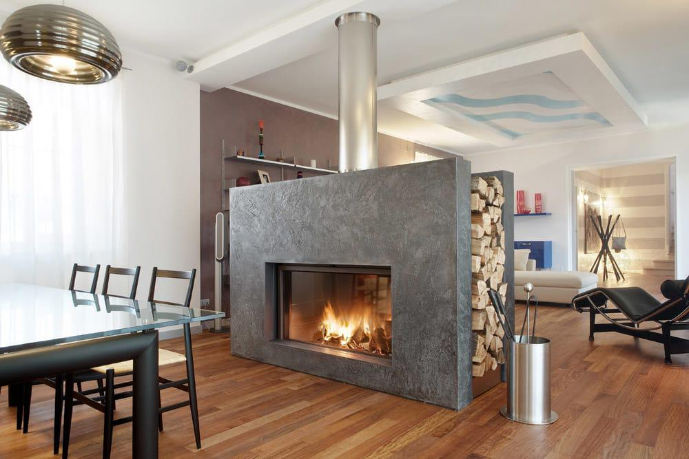 Image of: Attractive Fireplace With Amazing Design