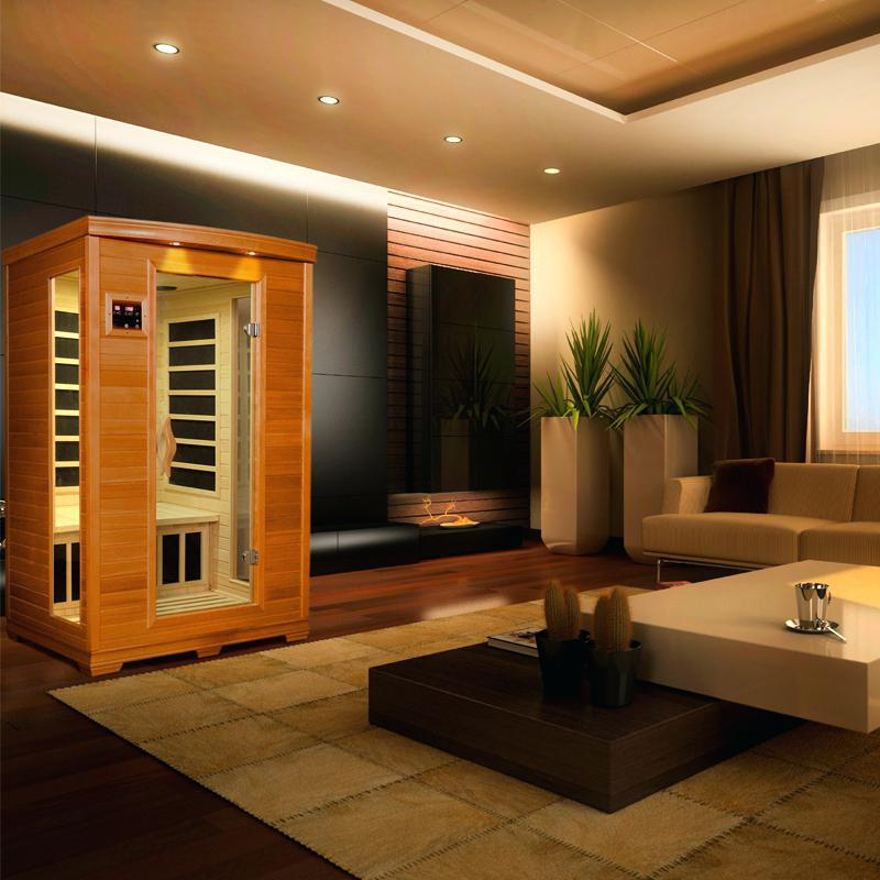 Image of: Awesome Far Infrared Sauna Designs
