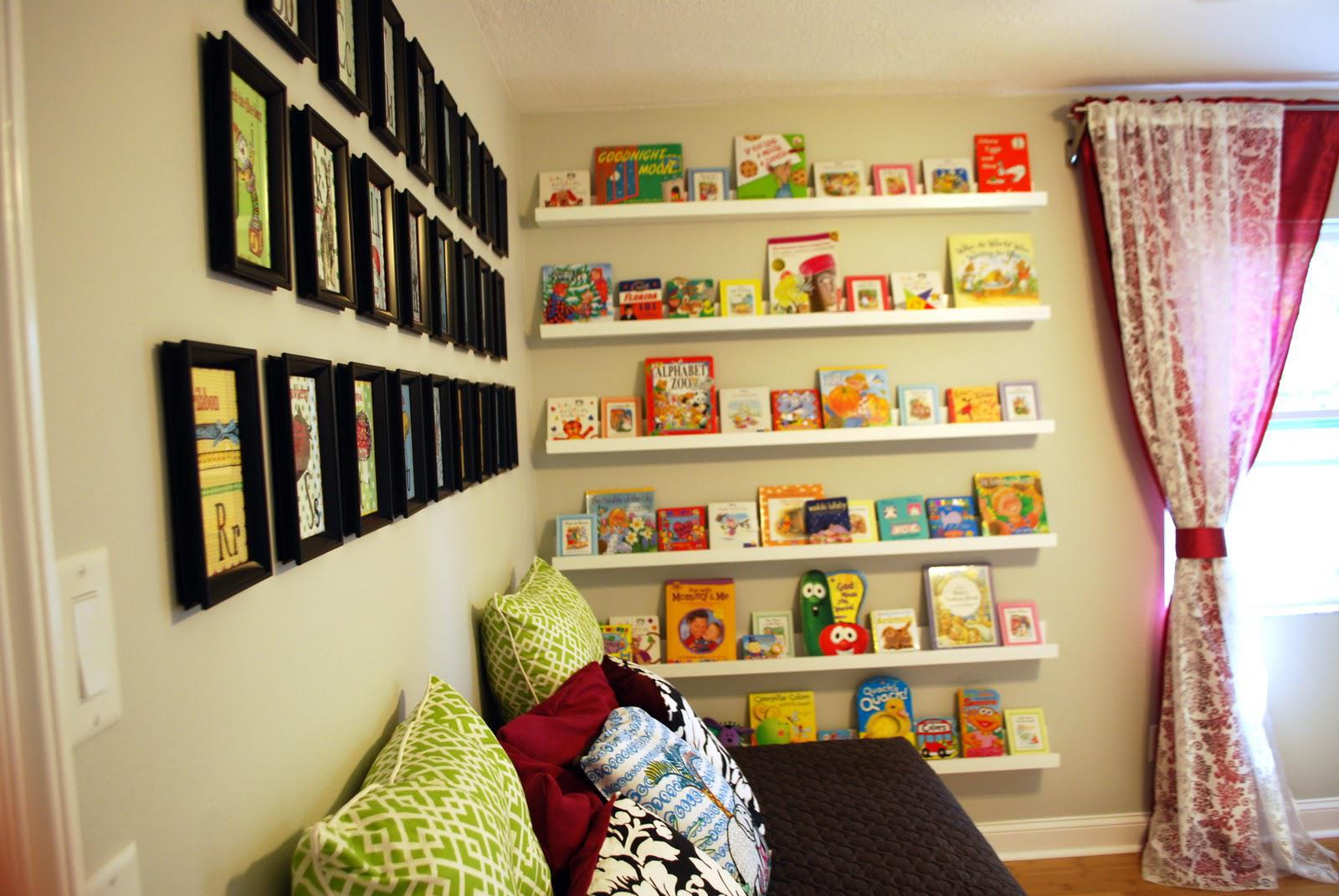 Image of: Baby Room Shelf Ideas