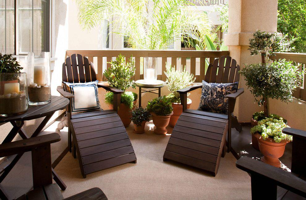 Image of: Balcony Decorating Ideas On A Budget