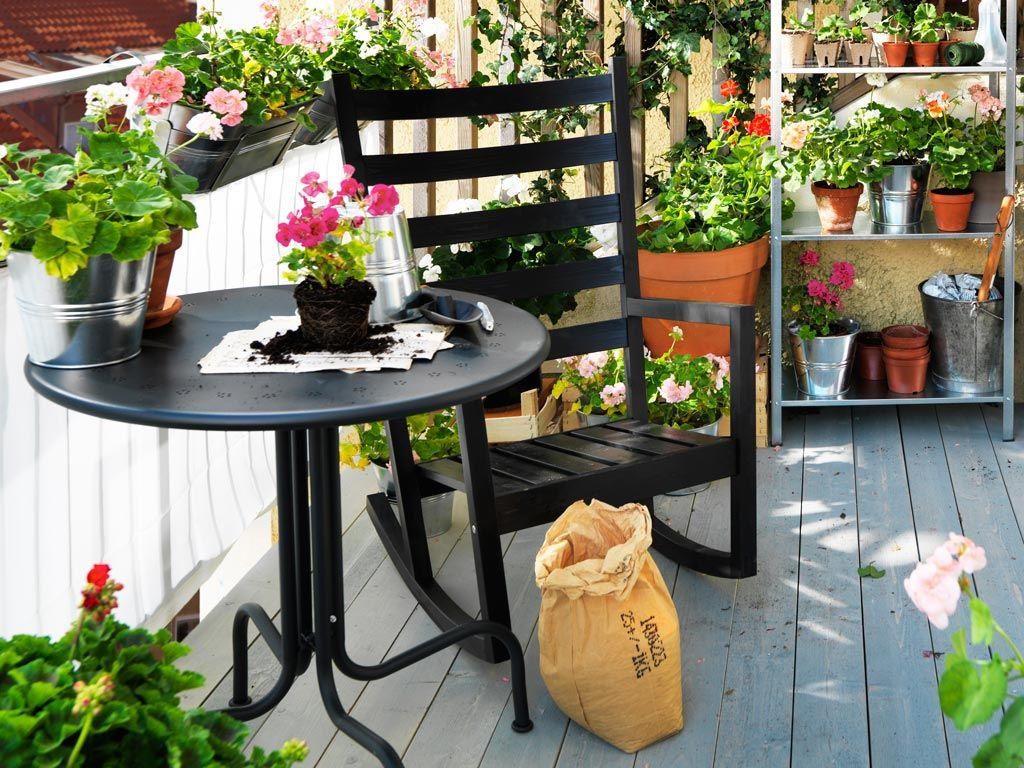 Image of: Balcony Decorating Ideas With Plants