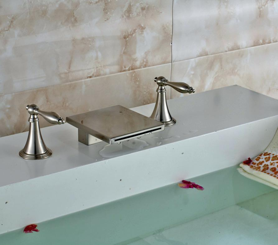 Image of: Bathroom Faucet Shelf
