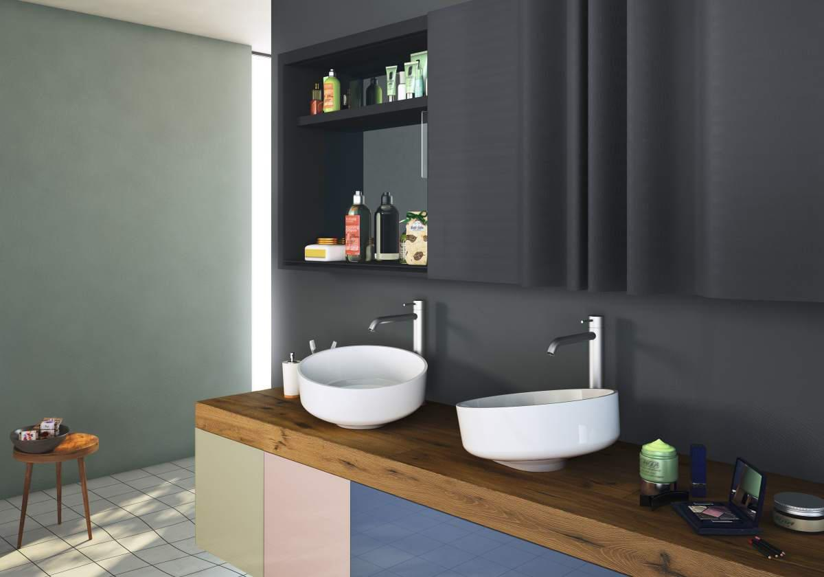 Image of: Bathroom Fixtures Washbasin Design