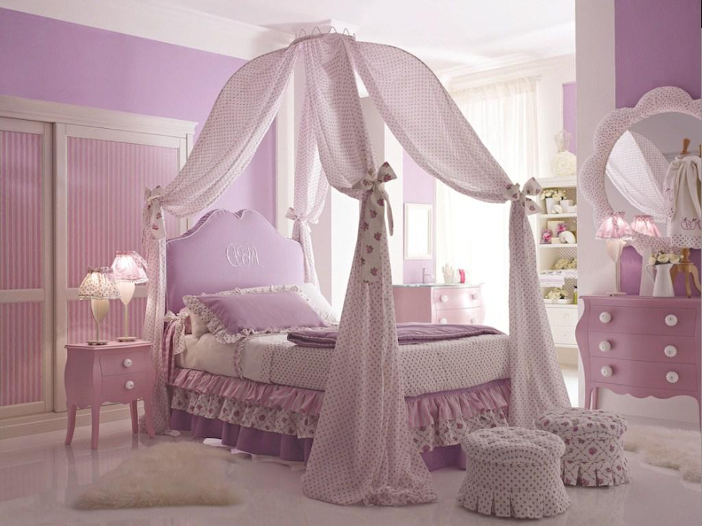 Image of: Bed Canopies For Girls Design