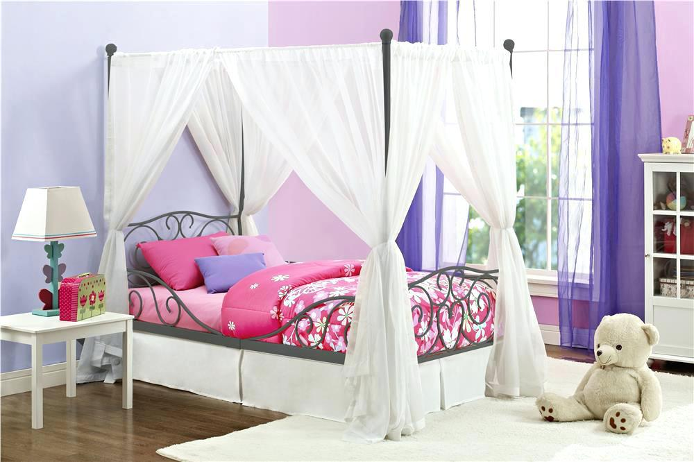 Image of: Bed Canopies For Girls