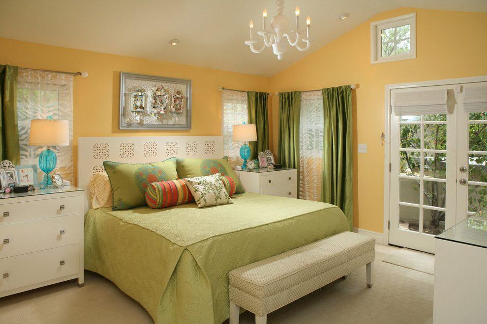 Image of: Bedroom Color Ideas Yellow