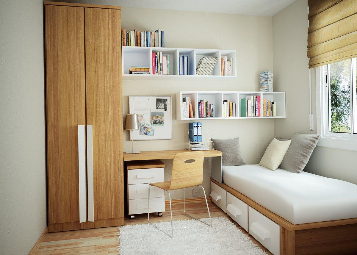 Image of: Bedroom Design For Small Space