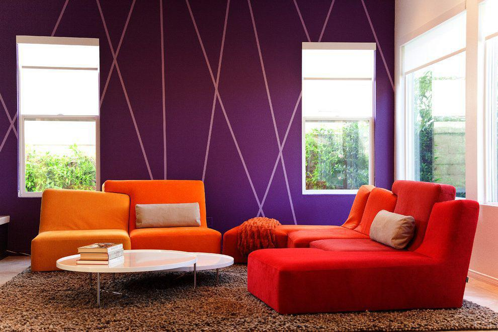 Image of: Best Full Colour Living Room