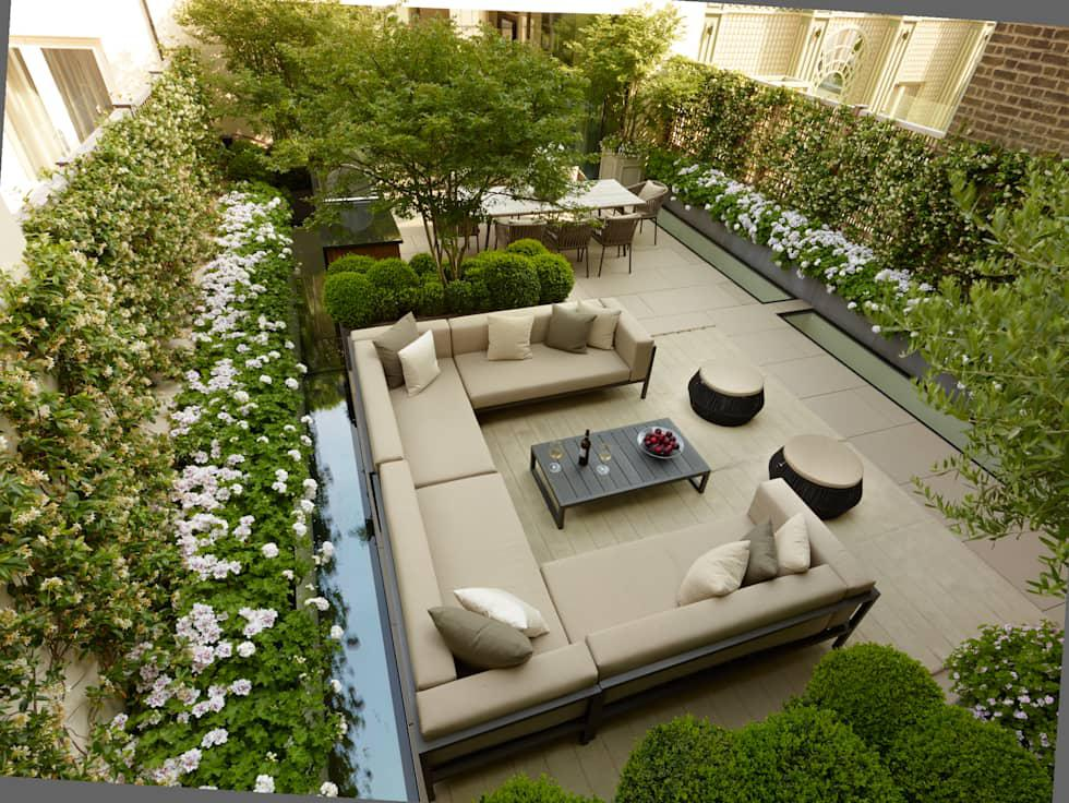 Image of: Best Garden In Terrace