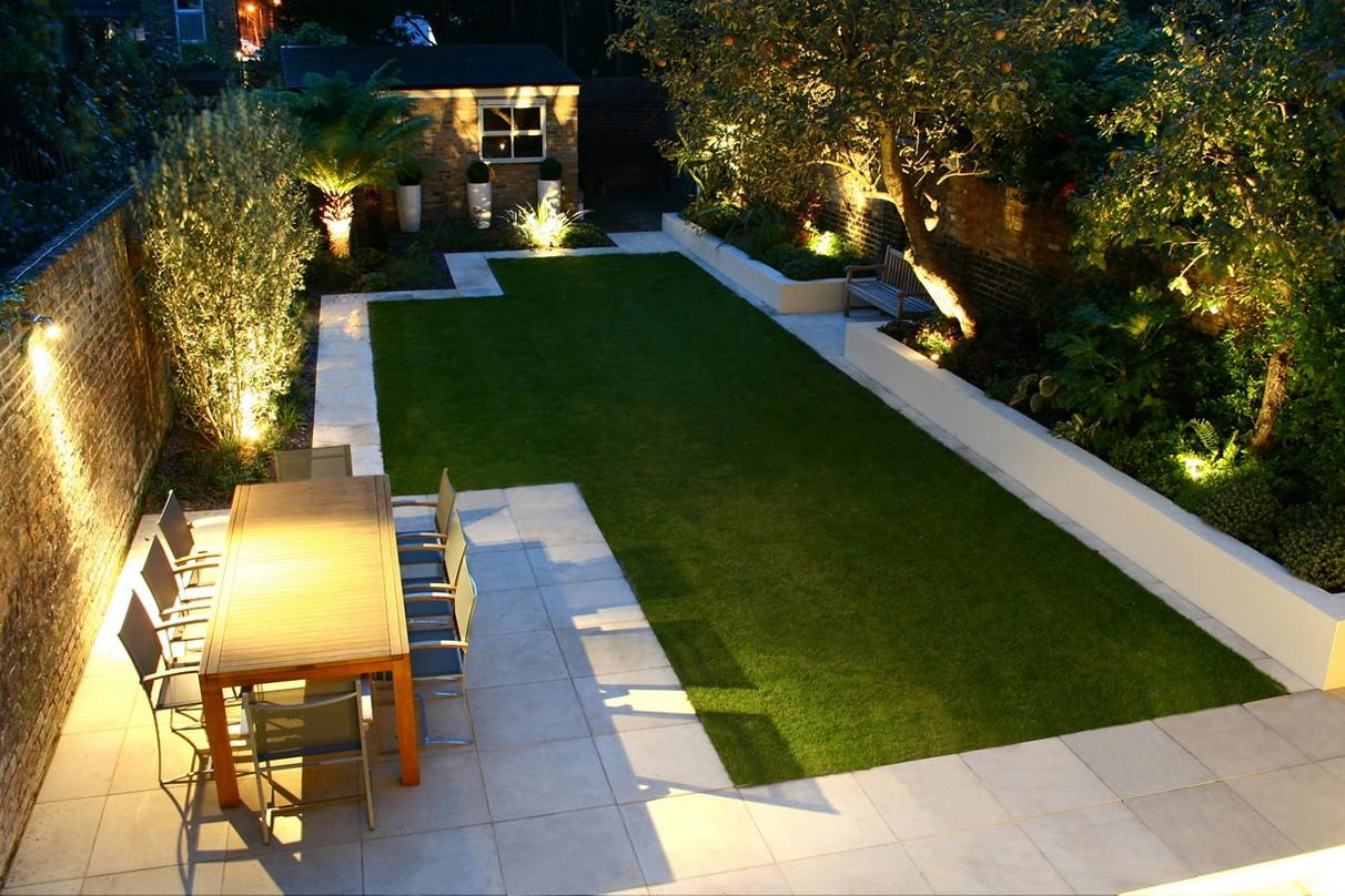 Image of: Best Minimalist Garden Design Ideas