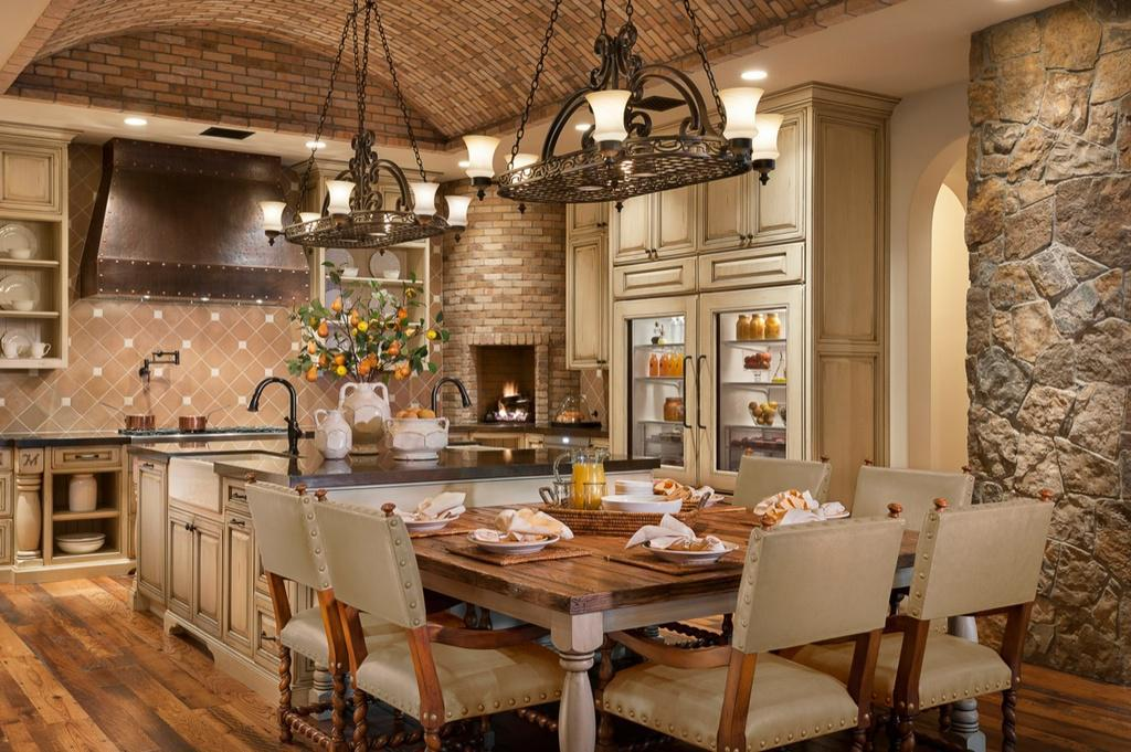 Image of: Best Old World Kitchens