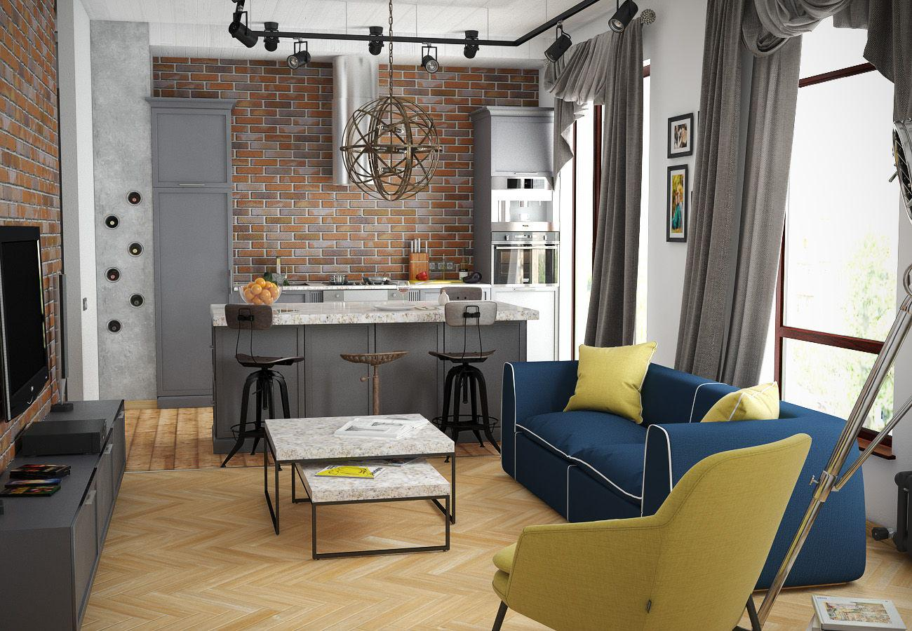 Image of: Best Small Apartment Interior Layout