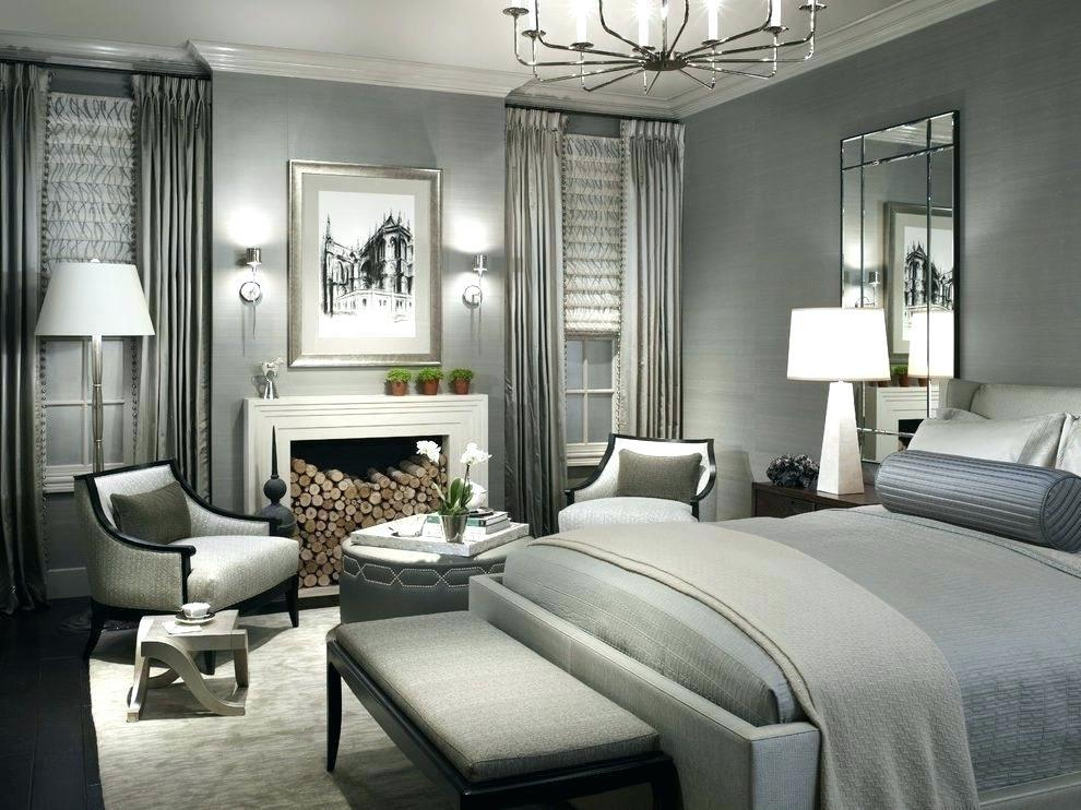 Image of: Black And Silver Bedroom Set