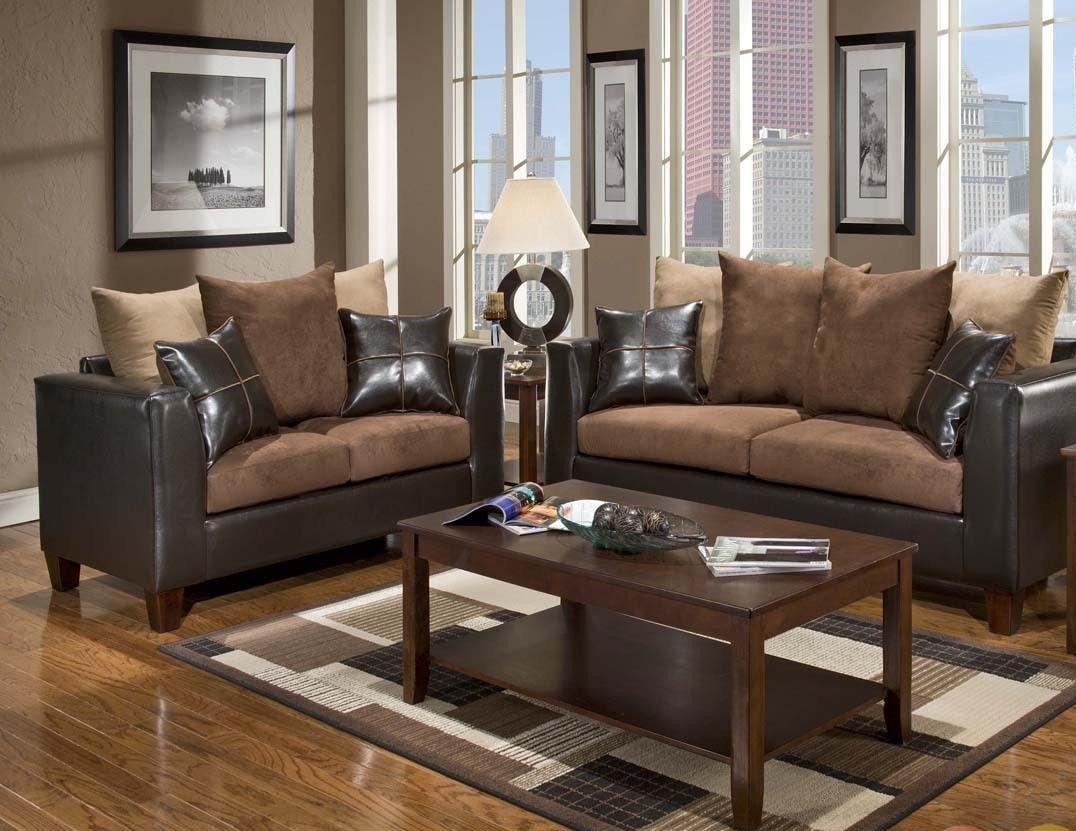 Image of: Brown Furniture Home Design