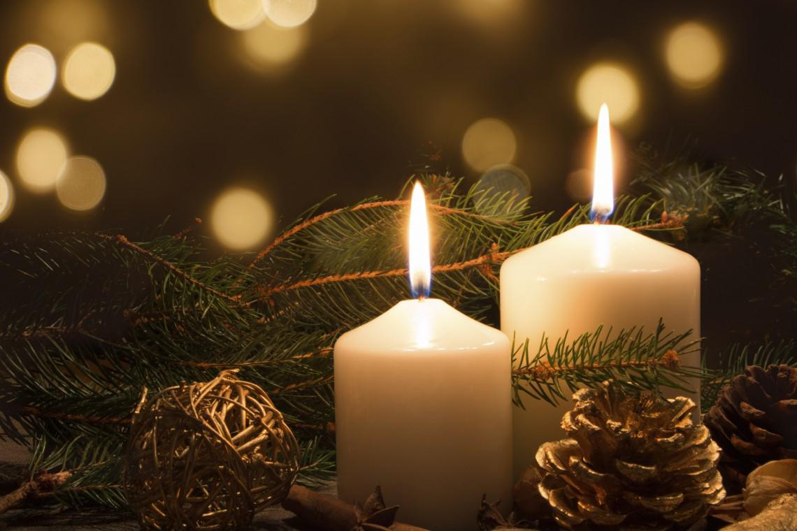 Image of: Christmas Candle