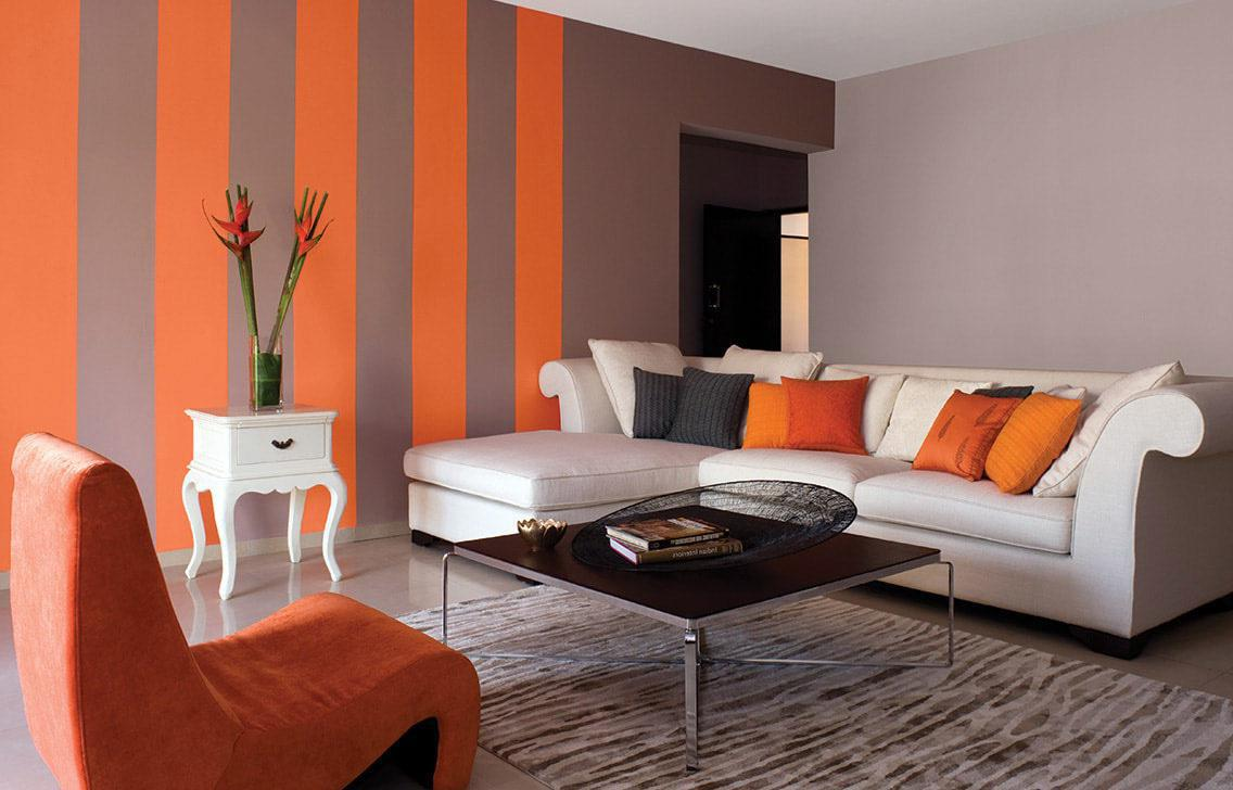 Image of: Color In Living Room Walls
