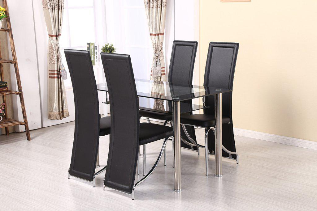 Image of: Compact Dining Table Design